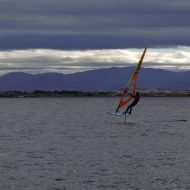 Stéphane full speed avec le WindFoil 2017