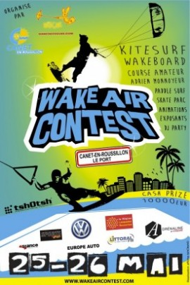 Affiche Wake Air Contest 2013