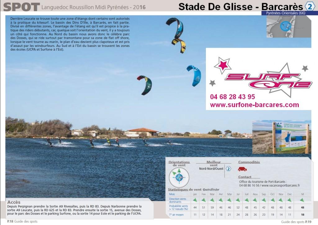 GUIDE DES SPOTS KITE KLR 2016