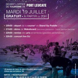 Nuit Paddle & Wake - Port de Leucate