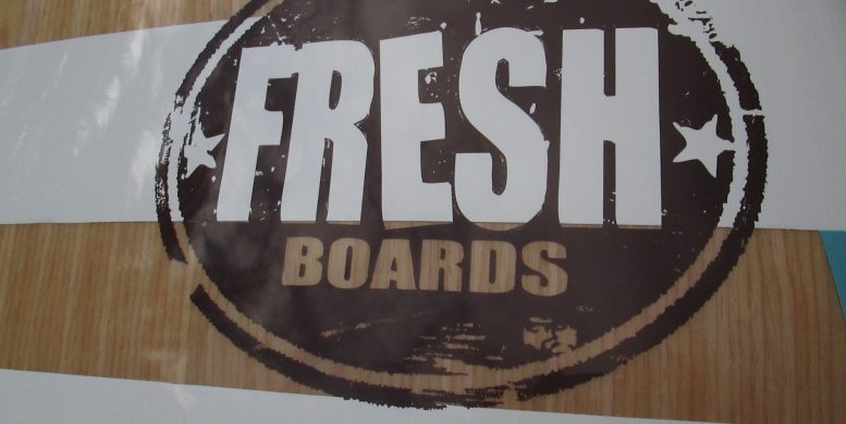Sup fresh Board California Déco wood | fresh Board Sup | Le Blog Surfone